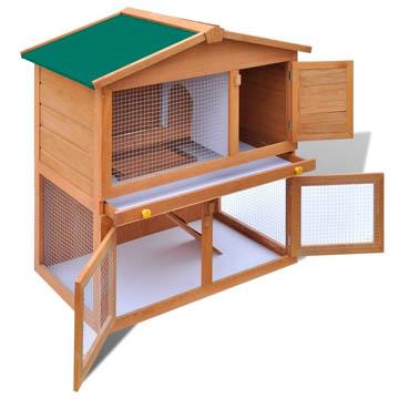 Cage à lapin d'extérieur