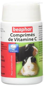meilleures vitamines C pour cochons d'Inde